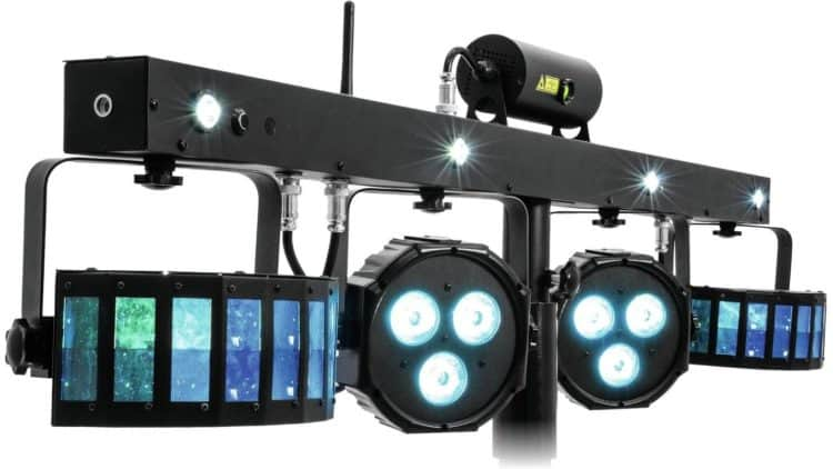 LED- und Laser-Set: Eurolite LED KLS - Mobile DJ Equipment