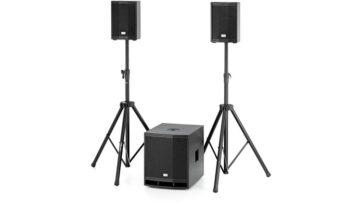 Kompaktes PA-System: the box CL 106/112MKII Basis Bundle - Ausrüstung für mobile DJs