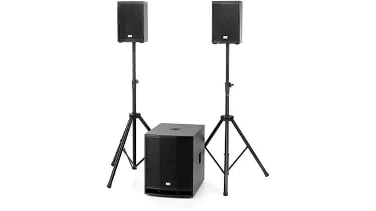Kompaktes PA-System: the box CL 108/115MKII Basis Bundle - Ausrüstung für mobile DJs