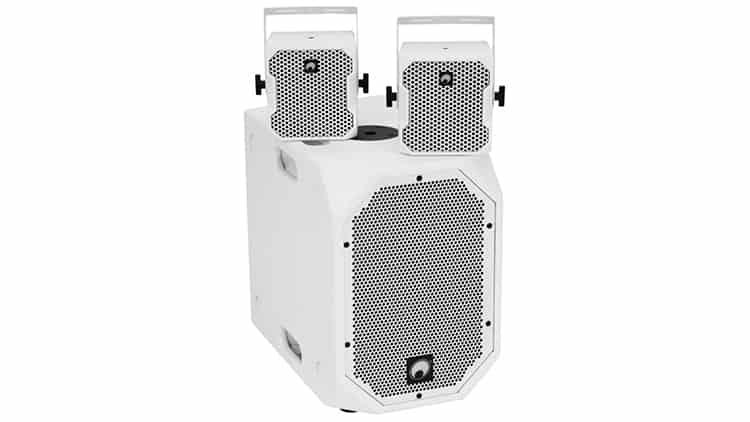 OMNITRONIC Set BOB-10A ws + 2x BOB-4 ws - Portable PA-Systeme - Empfehlungen