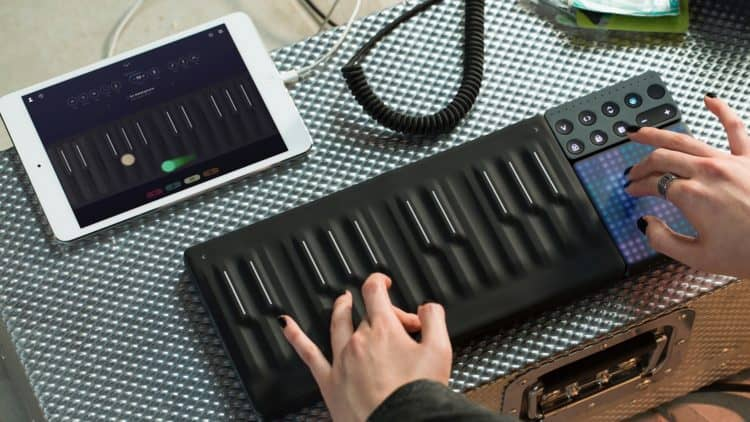 ROLI Songmaker Kit Rewiew - Dashboard