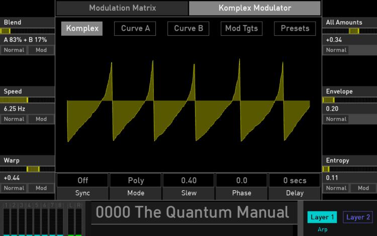 Komplex Modulator - Der »LFO deluxe« im Waldorf Quantum Review
