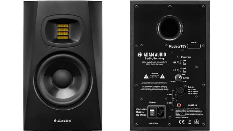Adam Audio T5V Test