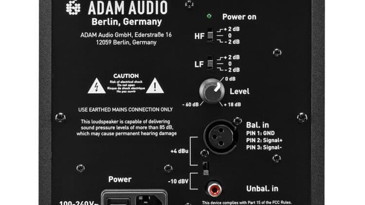 Adam Audio T5V Test