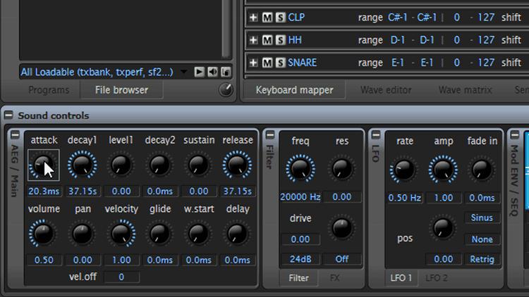Layering II – Beats mit Free Sampler machen