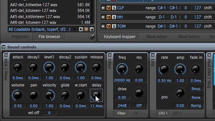 Layering IV – Beats mit Free Sampler machen