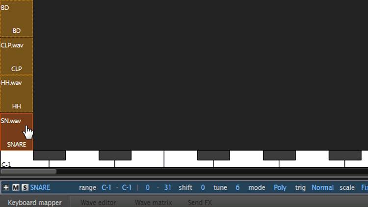 Velocity Layering II – Beats mit Free Sampler machen