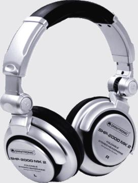 DJ Kopfhörer Einsteiger - Omnitronic SHP-2000 MK2