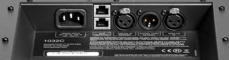 Konnektivität - Genelec 1032CPM Review