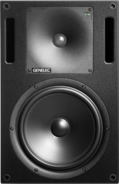 Front mit Bassreflex-Ports - Genelec 1032CPM Testbericht