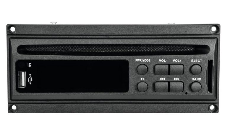 Omnitronic MOM-10BT4 Test - CD-Player Modul