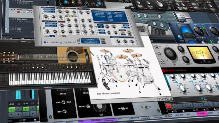 Virtuelle Instrumente & VSTi