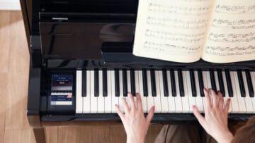 digitalpiano tastatur