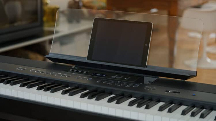 digitalpiano druckpunktsimulation