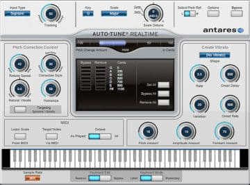Universal Audio Antares Auto-Tune Realtime - Recording FX vs. Mixing FX
