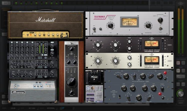 UAD Realtime Analog Classics - Effekte beim Recording vs. Mixing Effekte