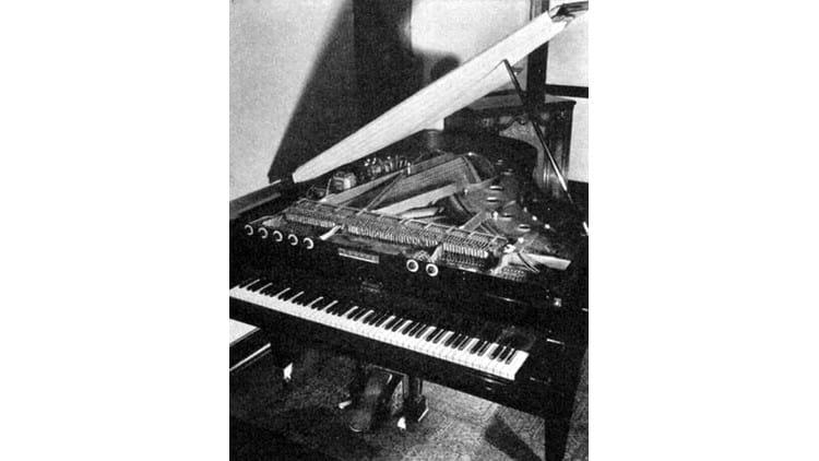 Geschichte der elektronischen Klaviere
