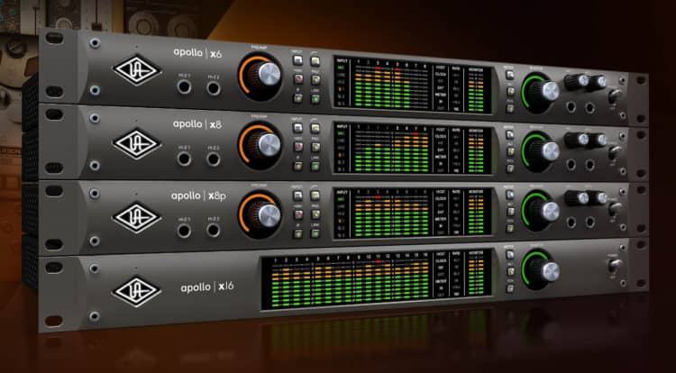 Universal Audio Apollo x6, x8, x8p, x16