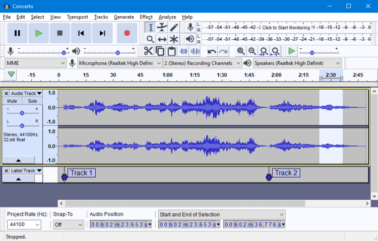 Audacity - Podcast Software