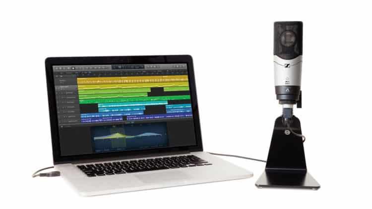 Einen Podcast aufnehmen - sehr einfach geht das mit einem USB-Mikrofon