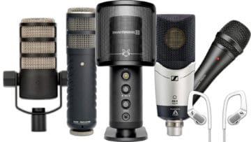 Podcast Mikrofone Empfehlungen Best-Of