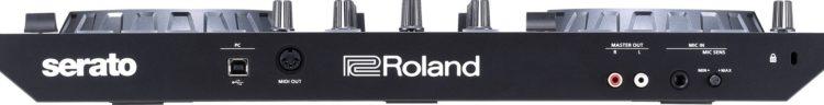 Anschlüsse - Roland DJ-202 Review