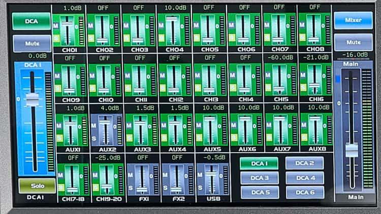 Touchscreen - t.mix 20.12 Testbericht