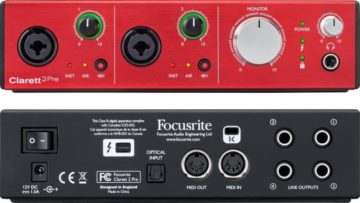 Focusrite Clarett 2Pre USB - Cyber Monday Deals 2018