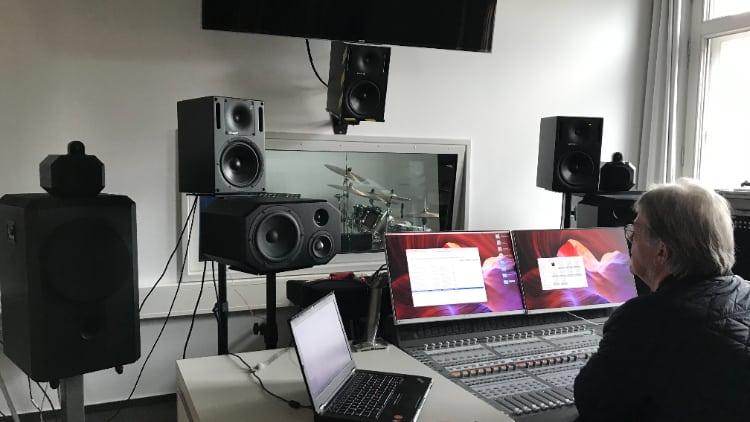 Hörtechnik und Audiologie studieren Tonstudio
