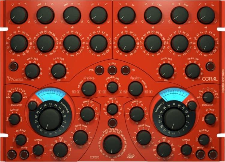 Acustica Audio Coral - Mastering Plugin