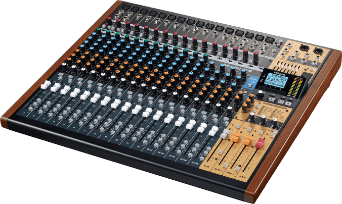 Tascam Model 24 - Audio Equipment Einsteiger