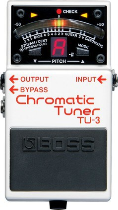 Stimmgerät - Boss TU-3