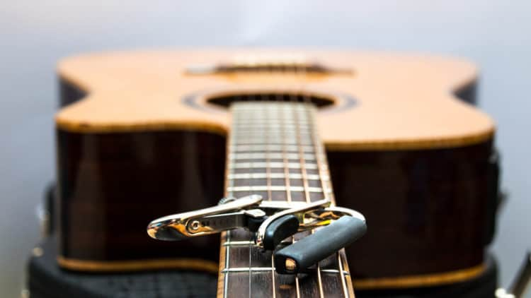 Kapodaster Gitarre - Ratgeber