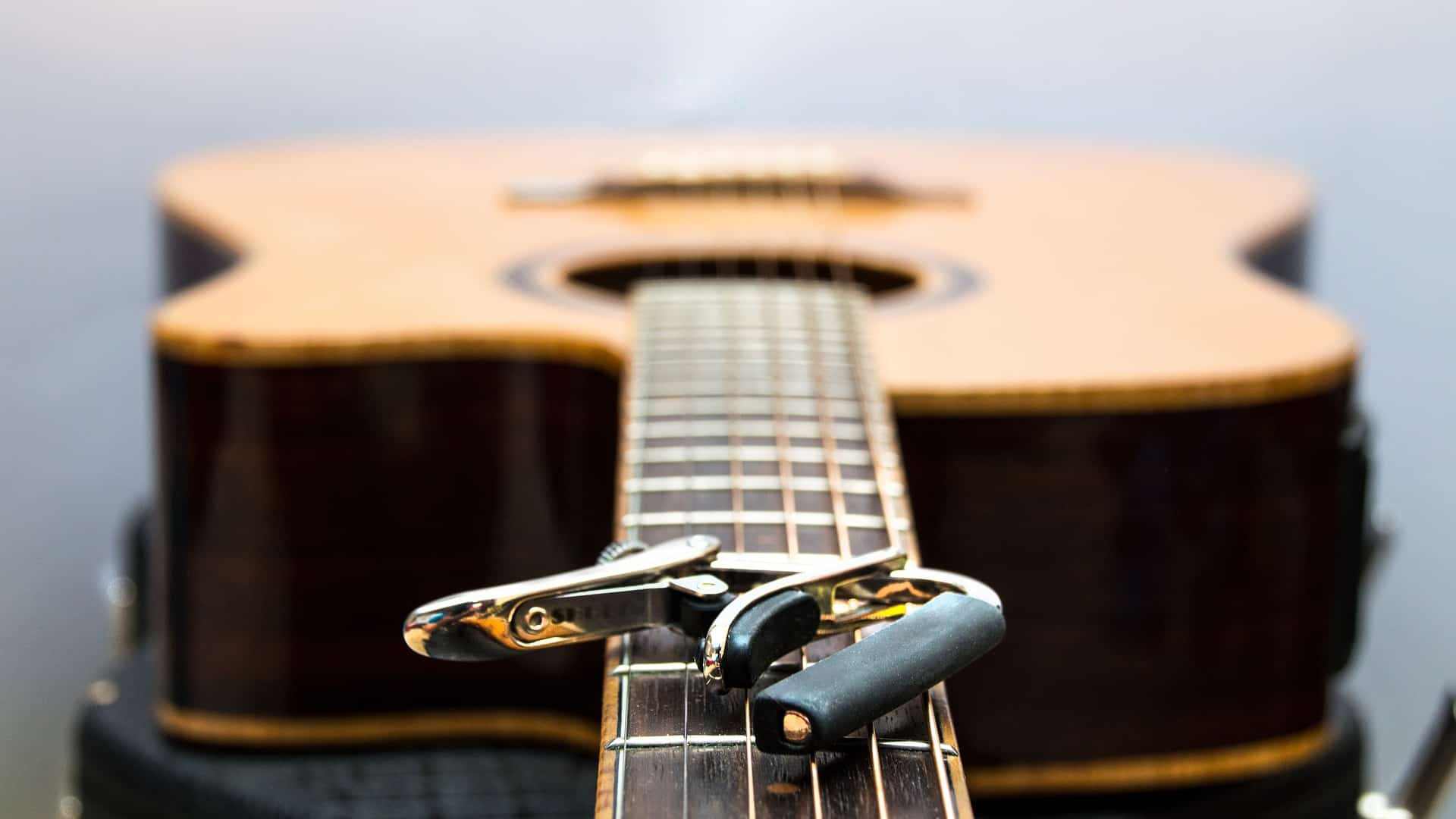 Westerngitarre E-Gitarre Guitar Kapodaster Capodaster für Akustikgitarre