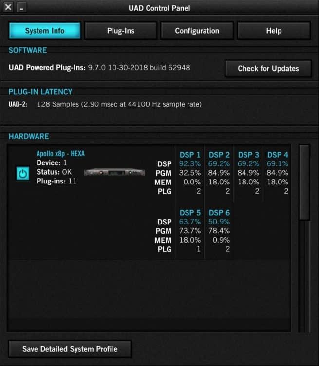 Universal Audio Apollo x8p Testbericht
