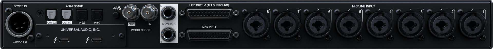 Universal Audio Apollo x8p Test: Tolles Thunderbolt Interface