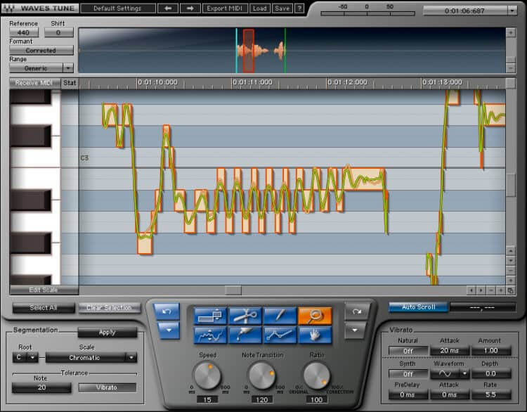 Waves Tune - Autotune VST Plugin