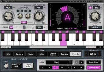 Waves Tune Real-Time - Autotune VST Plugin