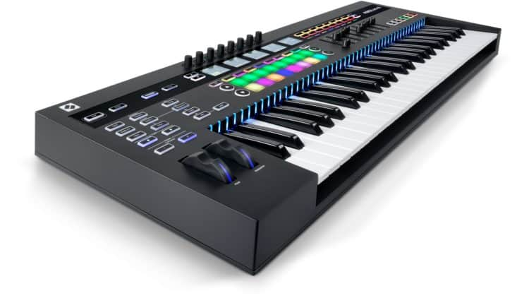 MIDI Keyboard Controller - Novation 49SL MkIII Test