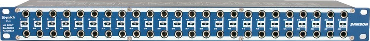 Patchbay - Samson S-Patch Plus