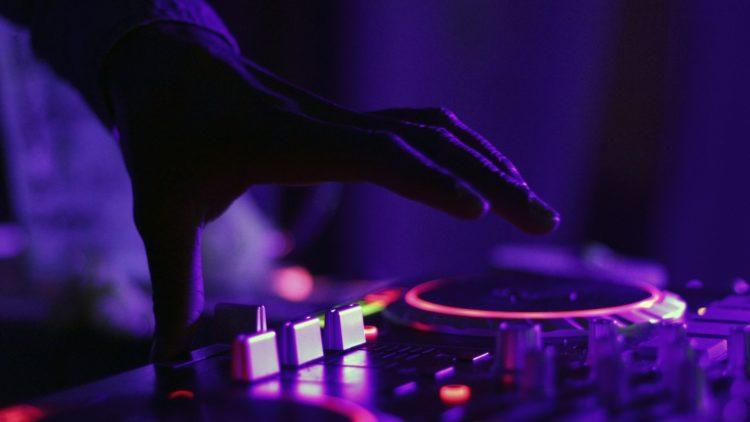 DJ Effekte im Einsatz