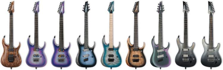 E-Gitarren aus dem Ibanez Axion Label