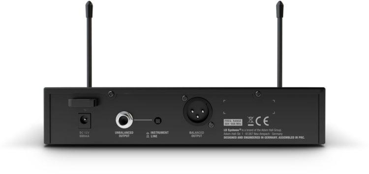 Empfänger, Rückseite - LD Systems U300