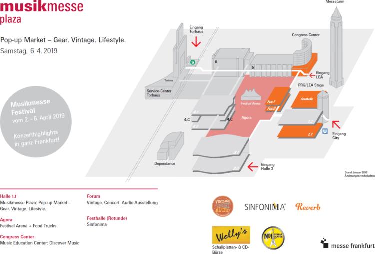 Musikmesse Plaza - Musikmesse 2019