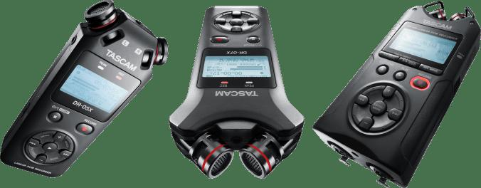 TASCAM DR-05X, DR-07X & DR-40X - NAMM 2019 Highlights