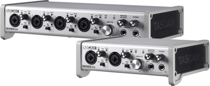 TASCAM Series 102i & 208i - NAMM 2019 Highlights