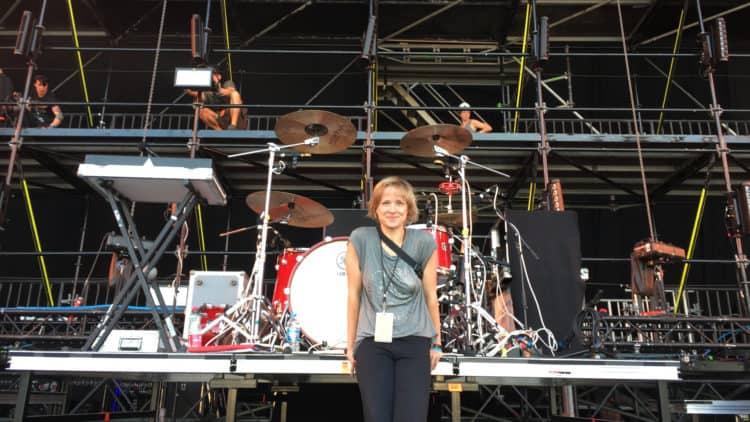 Live-Performance - Nicole Wiese und Kraftklub