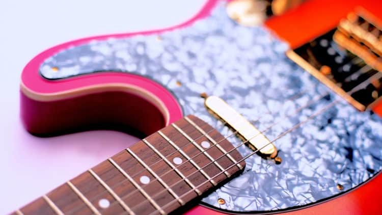 Pickguard - Schlagbrett Gitarre