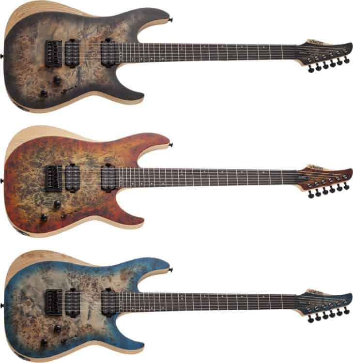 Finishes der Schecter Reaper-6