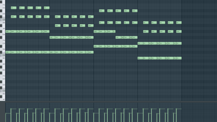 Soundalike Kygo - Piano Drop